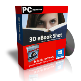 3D eBook Shot Box Shot eBook Cover Animation Software